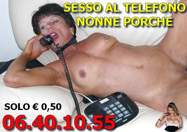 Sesso al Telefono Anziane Porche Basso Costo